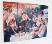 Schilderij van Luncheon of the Boating Party op hout (60 x 80)