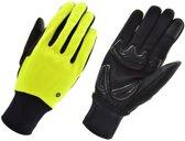 Handschoen windproof ii geel m - GEEL