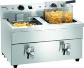 Inductiefriteuse 2x8L