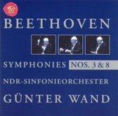 G¿nter Wand Edition - Beethoven: Symphonies nos 3 & 8 / North German RSO