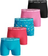 Bjorn Borg - Heren 5-Pack Boxershorts Essential Summer Weekend Blue Atoll - XXL