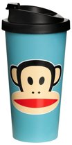 Paul Frank Drinkbeker - To Go - Incl Deksel - 500 ml - Blauw
