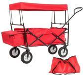 Bolderkar transportkar bolderwagen met dak + draagtas 401082