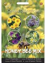 Honey Bee mix - 4 zaadzakjes - set van 5 stuks