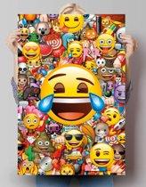 Emoji - collage  - Poster 61 x 91.5 cm
