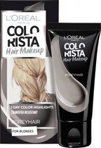 L'Oréal Paris Colorista Hair Makeup - Grey - 1 Dag Haarkleuring