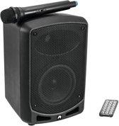 OMNITRONIC Luidspreker met microfoon - WAMS-65BT - Mobiele geluidsset met microfoon en bluetooth