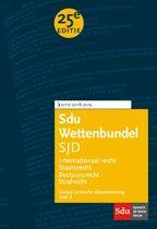 Educatieve wettenverzameling - Sdu Wettenbundel (set 2 ex) Sociaal Juridische Dienstverlening 2018-2019