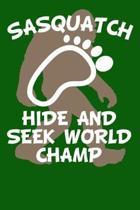 Sasquatch Hide and Seek World Champ