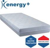 Energy+ NASA Traagschuim matras - 70 x 200 cm - Stevig
