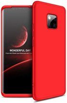 Teleplus Huawei Mate 20 Pro 360 Full Protected Cover Red