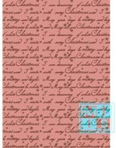 Cadeaupapier kerstmis: K691224/3 I'm Dreaming of a White Christmas - Toonbankrol breedte 50 cm