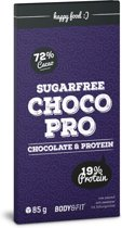 Body & Fit Food ChocoPro - Suikervrije chocolade  - 85 gram - Puur