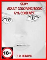 Sexy Adult Coloring Book Eye Contact