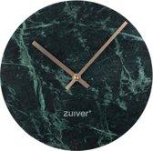 Zuiver Marble Time - Wandklok - Groen