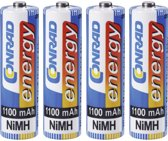 Conrad 250025 household battery Rechargeable battery Nikkel-Metaalhydride (NiMH)