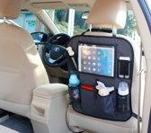 Autostoel Organizer Voor Tablet De Luxe Grijs