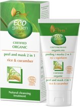 AVA Cosmetics - Eco Garden - Certified Organic Peeling & mask rice & cucumber 30ml.