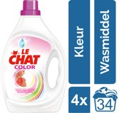 Le Chat Gel Color Sensitive - Kwartaalverpakking - 136 wasbeurten - Wasmiddel