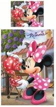 Minnie Mouse éénpersoons dekbedovertrek 140 x 200 cm