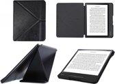 Kobo Forma SleepCover hoesje met origami standaard , Zwarte Premium Hoes Case, extra luxe materiaal cover, SleepCover Slimfit beschermhoes
