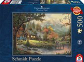 Schmidt puzzel Peaceful Moments 500 stukjes