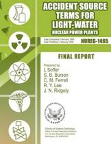 Accident Source Terms for Light-Water Nuclear Power Plants