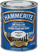 Hammerite Hoogglanslak Wit 750 ML