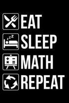 Eat Sleep Math Repeat