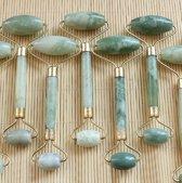 Jade Roller Gezichtsmassage | Luxe Gezichtsroller | Anti Rimpel Gezichtsroller | Anti donkere kringen | Anti rimpels | Gezichtsmassage | Afvalstoffen reiniger | Jade Roller