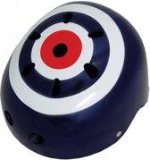 Kiddimoto - Doelwit - Small - Geschikt voor 2-6jarige of hoofdomtrek van 48 tot 52 cm - Skatehelm - Fietshelm - Kinderhelm - Stoere helm - Jongens helm