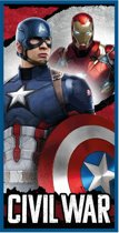 Marvel Avengers Civil War - Strandlaken - 70 x 140 cm - Multi