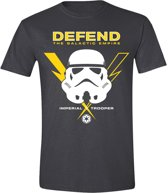 Star Wars - Defend Men T-Shirt - Anthracite - XXL