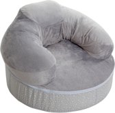 Candide - Multifunctionele voedingskussen en cosi relax stoel in 1 grijs