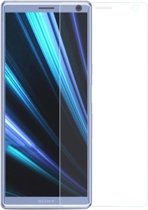Shop4 - Sony Xperia L3 Glazen Screenprotector -  Gehard Glas Transparant