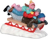 Lemax - Sledding With Dad