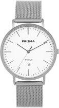 Prisma Heren Slimline Titanium Horloge P.1487