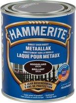 Hammerite Hoogglanslak Donker Bruin 750 ML
