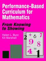 Performance-Based Curriculum for Mathematics