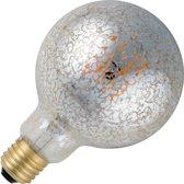 SPL globelamp Vintage Oil LED filament zilver 5,5W (vervangt 30W) grote fitting E27 95mm