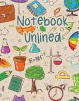 Notebook Unlined