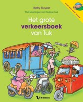Het grote verkeersboek van Tuk vol voertuigen, thema Kinderboekenweek 2019, van Betty Sluyzer