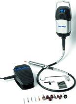 Dremel Fortiflex Multitool Roterend 300 Watt Inclusief 21 accessoires en heavy duty flexibele as