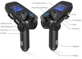 T11 - Pariot Bluetooth Carkit met LED Display (BESTSELLER) inclusief FM transmitter / Display / Handsfree bellen / USB Oplader / MP3 speler