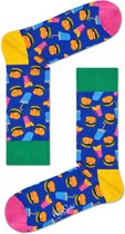 Happy Socks Hamburger Sokken - Multi - Maat 36-40