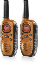 Topcom Twintalker 9100 - Walkie talkie met koffer