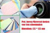 10 stuk horeca Microvezel doeken voor lens schoonmaken