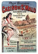 Carnet Lign� Affiche Casino Saint-Malo