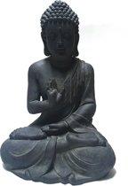 Garden Boeddha 60 cm donkergrijs
