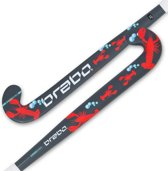 Brabo O'Geez Taping Lobster Hockeystick Unisex - Grey/Red